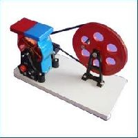 WATER TURBINE WITH DYNAMO