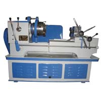 pipe and bolt threading machine