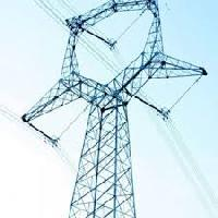 galvanized transmission line towers