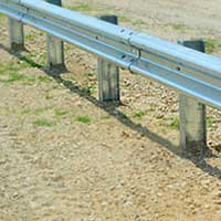 Highway Guardrail 01