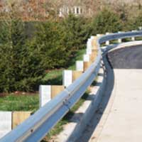 Highway Guardrail 04