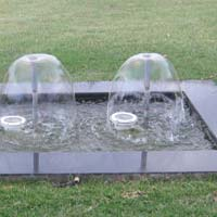 Bell Nozzle Fountain