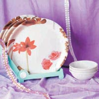 Stoneware Melamine Dinner Set