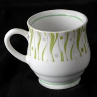 Stoneware Super China Cups