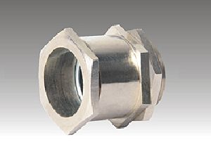 SINGLE COMPRESSION BRASS CABLE GLAND