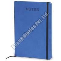 Blue Round Note Book