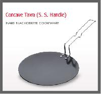 Hard Anodized Concave Tawa