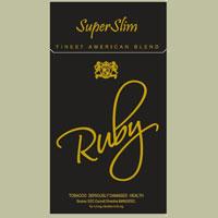 Ruby Black Super Slims Cigarette