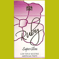 Ruby Purple Super Slims Cigarette