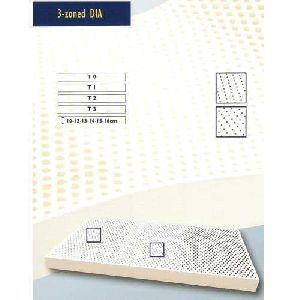 3 Zone Latex Foam Mattress