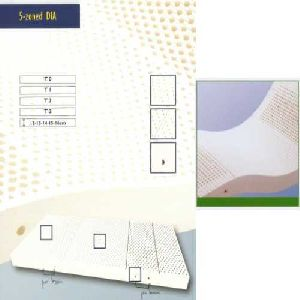 5 Zone Latex Foam Mattress