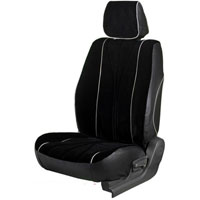 Europa Rider Black Car Seat Cover