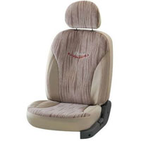 Mars Waves Beige Car Seat Cover