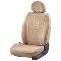 Towel Super Soft Beige Car Seat Cover