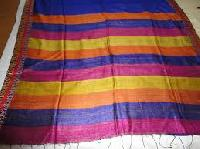 plain handloom silk fabric