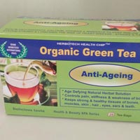 Organic Green Tea for Ageing Grace