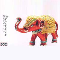 Brass Elephant with Fine Color