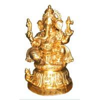 Brass Lord Ganesh Statue