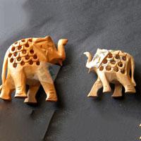 Elephant Figurine WES-06