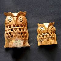 Wooden Owl WOS-03