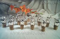 Sterling Silver Figurine  Bottle Corks