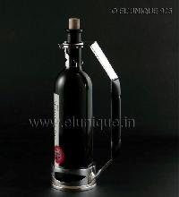 Sterling Silver Wine Bottle Holder