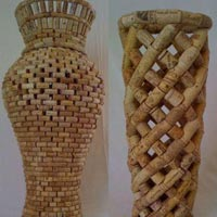 Floor Mounted Flower Vases