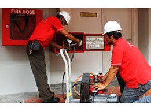 Fire Alarm System Installation 06
