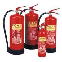 Foam Type Fire Extinguishers
