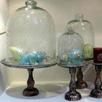 Glass Dome Cake Cover