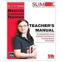 Teacher's Manual Medical Book