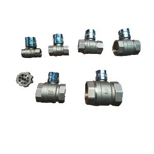 Brass Magnetic Lockable Ball Valve (NRL001)