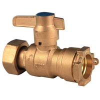 Lockable Brass Ball Valve (NRCI014)