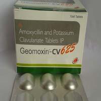 Geomoxin CV 625 Tablets