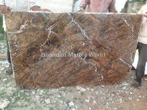 Entique Finish Rain Forest Brown Marble