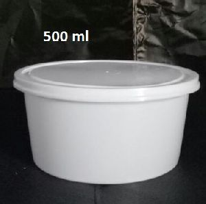 White Food Container
