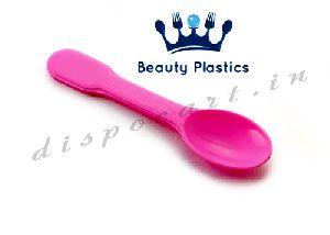 Plastic Ice Cream Spoons 02