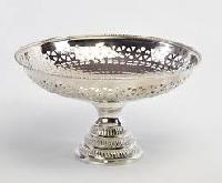 Silver Plated Fruit Dish