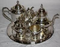 silver plated tea sets