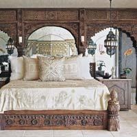 Clarisha Michel bedroom