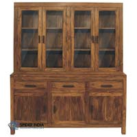 Glazed Dresser Wooden Wardrobe