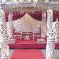 Glittering Crstal Wedding Mandaps