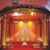 Golden Raj Wedding Mandaps