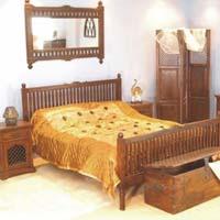 Jodhpur Wooden Bed
