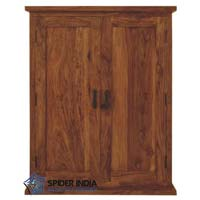 Madhu Space Saver Wooden Wardrobe