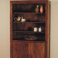 Sheesham Display Cabinet Wooden Sideboards