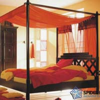 Poster Jaipur Wooden Bed