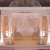 White Palace Wedding Mandaps