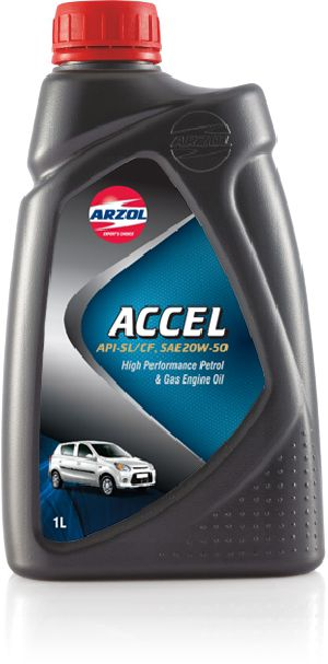 1 Litre Accel Engine Oil