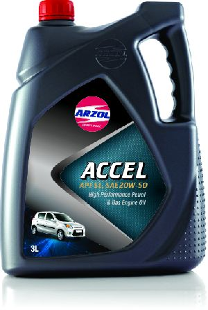 3 Litre Accel Engine Oil